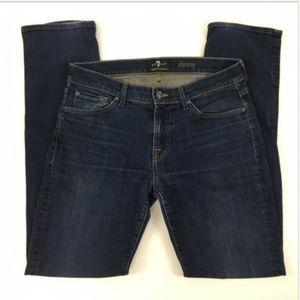 7 For All Mankind Jeans Size 34 Slimmy Dark Wash